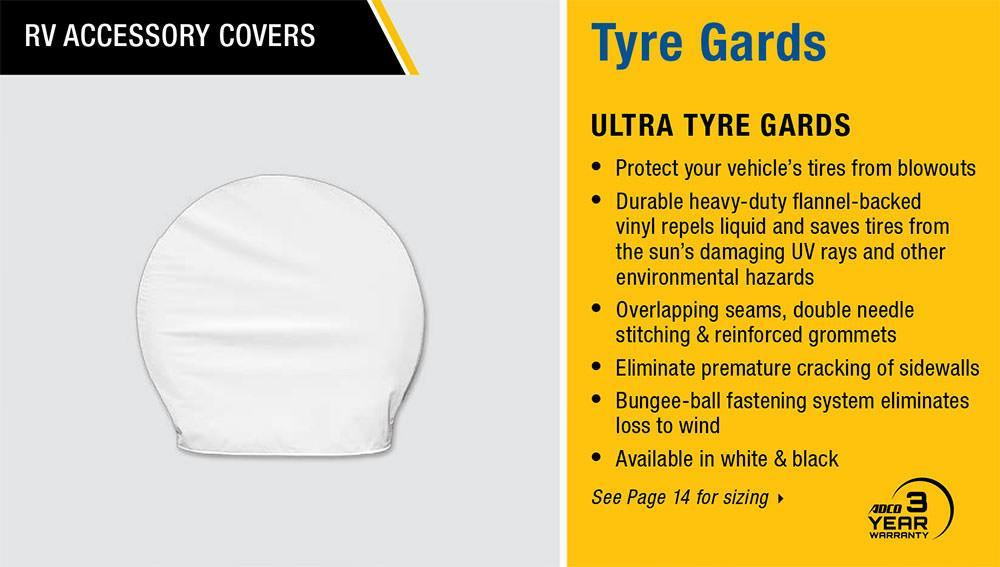 Ultra Tyre Gard Polar White - Features