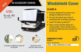 Class A Windshield Cover