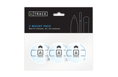White Mounts - 3 Pack
