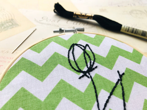 Tulip Embroidery PATTERN