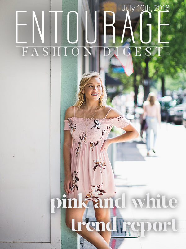 Pink and White Trends