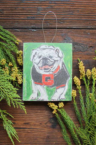 UGA ornament