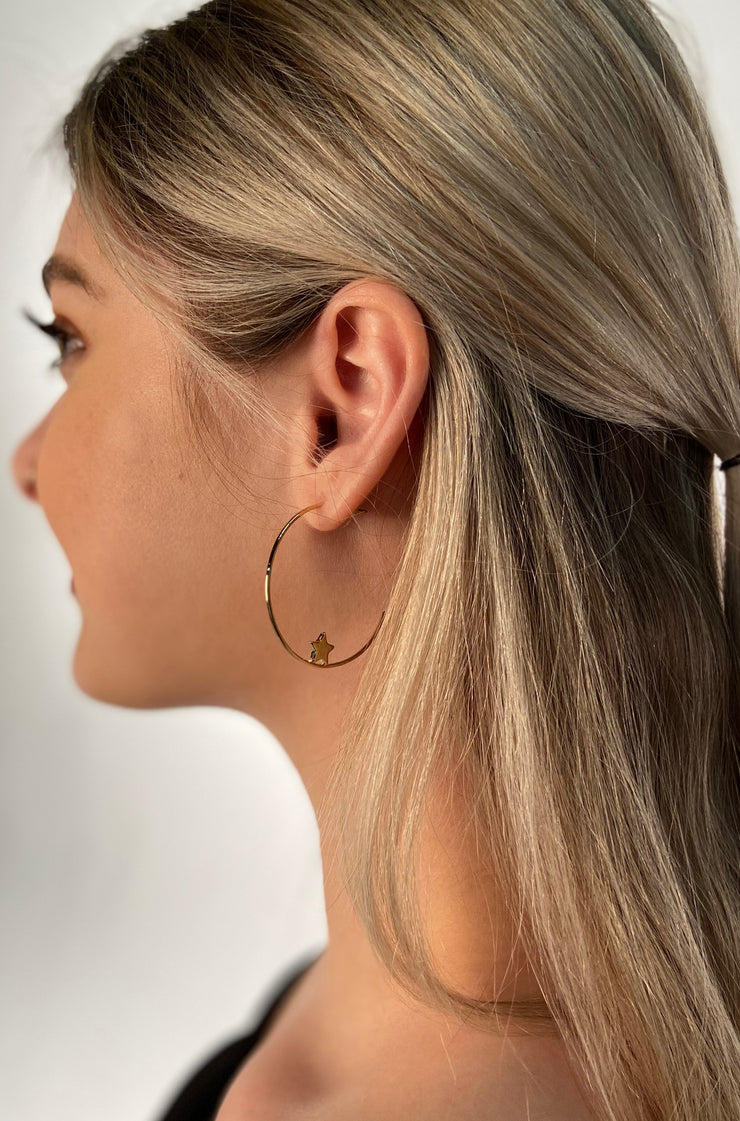 Starlight Earrings in Gold