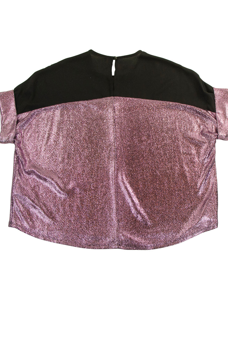 Shine Top in Pink