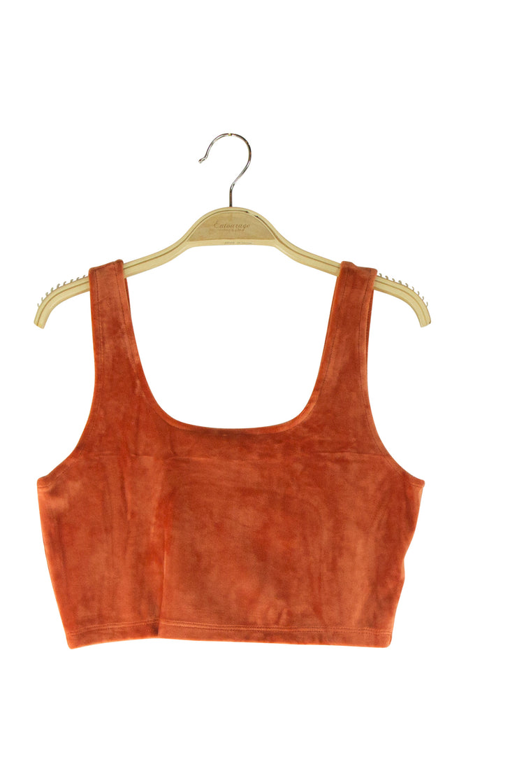 Eye Candy Top in Orange