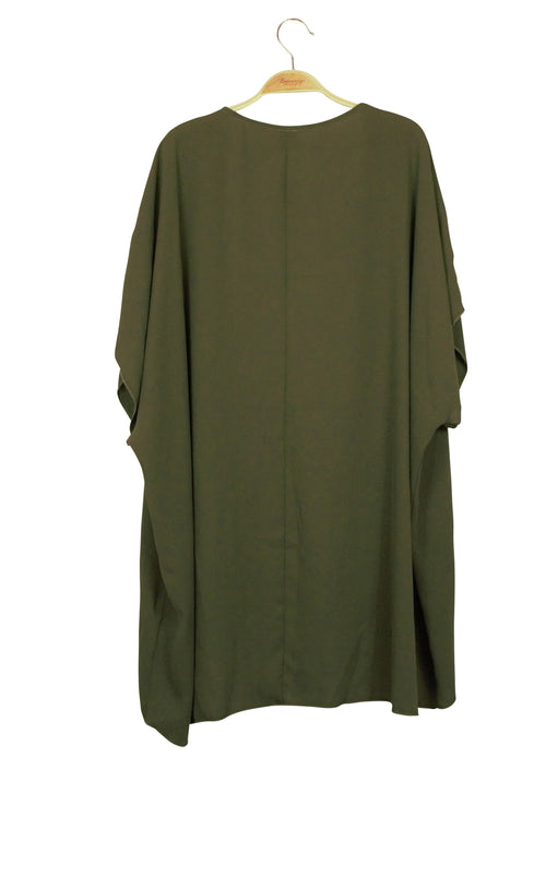 Undercover Duster in Dark Green