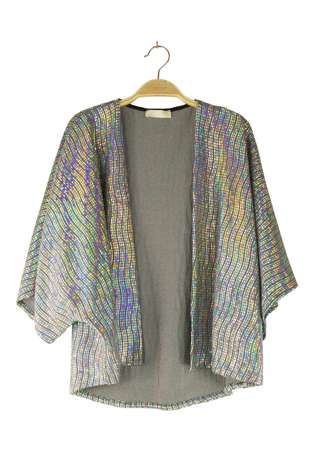 Effervescent Cardigan in  Grey