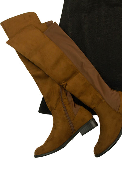Along for the Riding Boots in Dark Brown