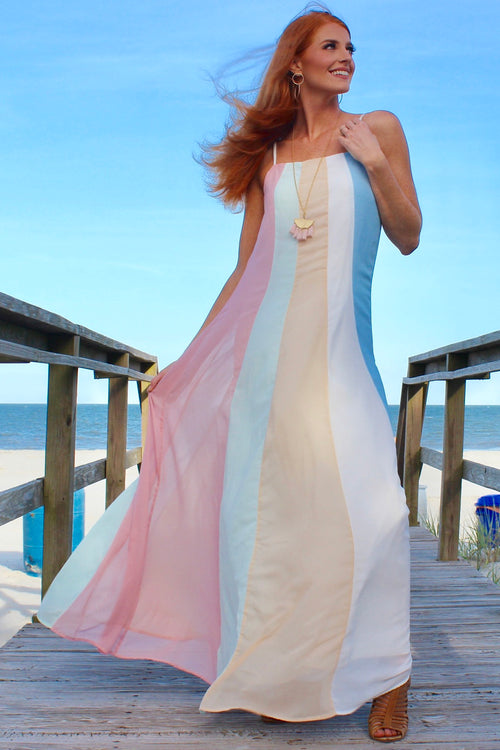 Ribbons in the Sky Dress