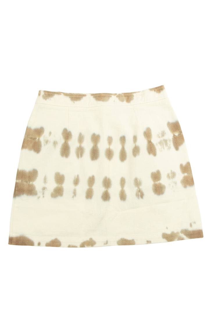 Work It Skirt in Off White
