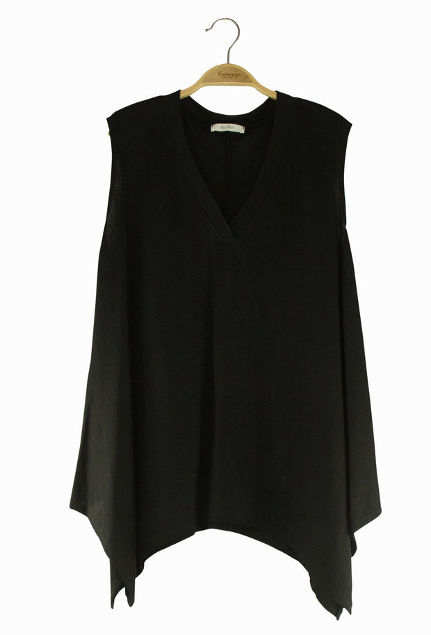 Athena Top in Black