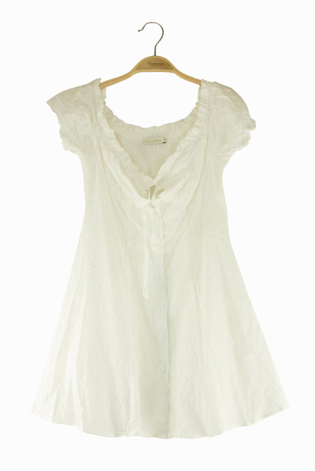 Virtues Dress in White