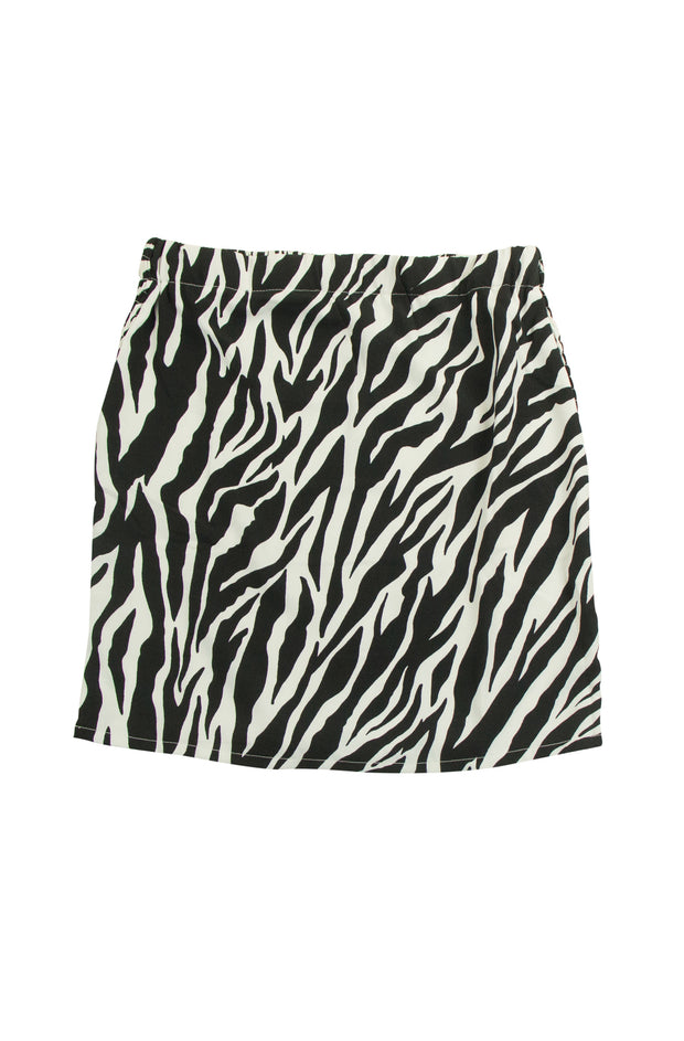 A to Zebra Skirt in White