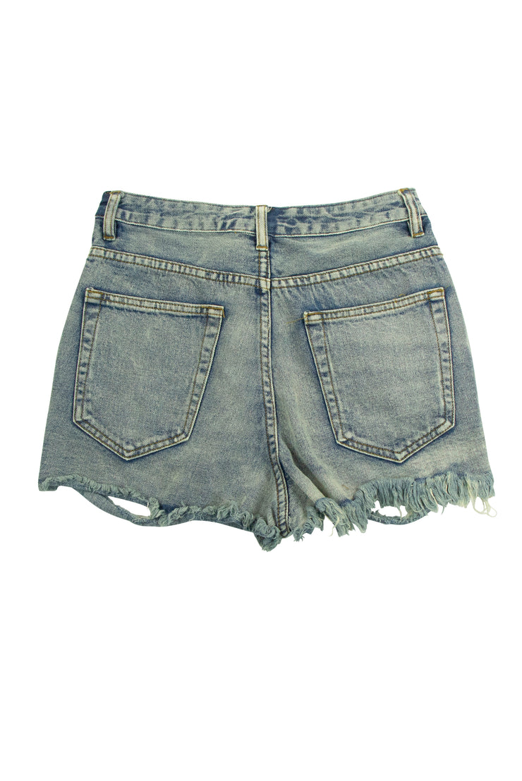 DeFray the Cost Shorts in Blue