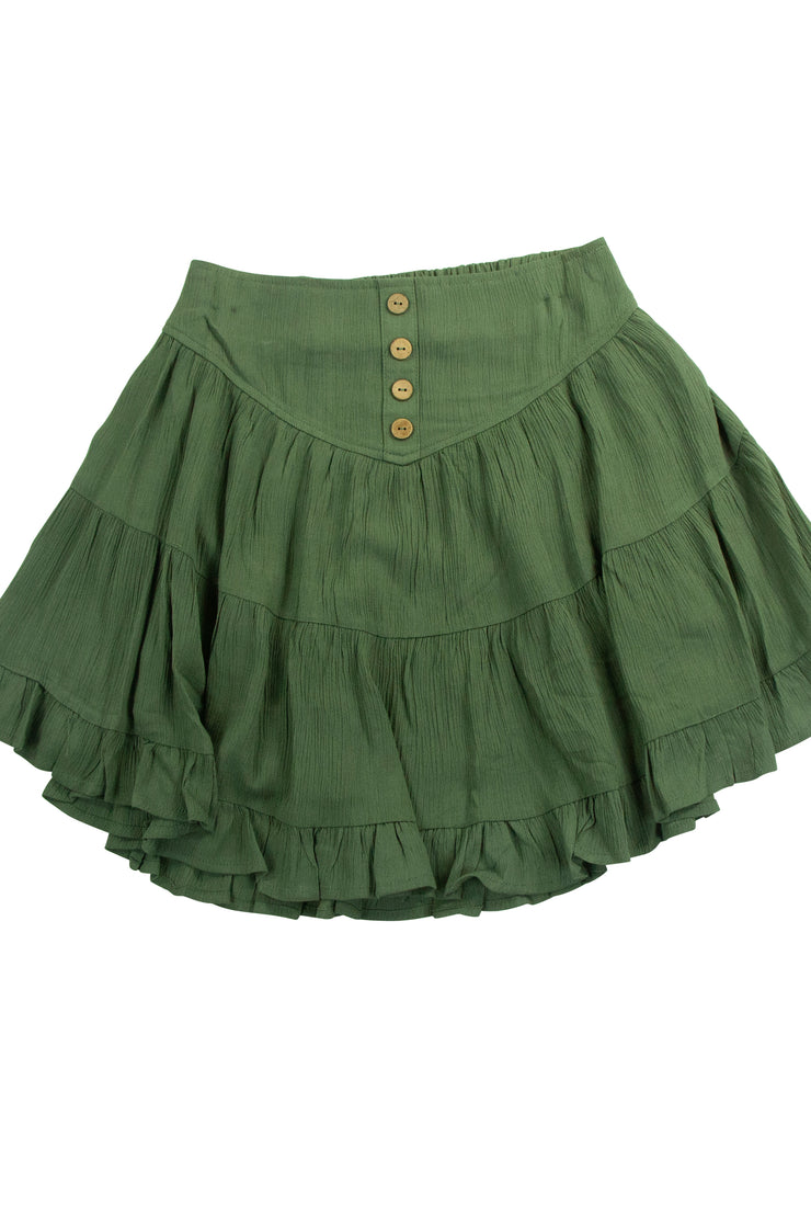 Penny Skirt in Dark Green