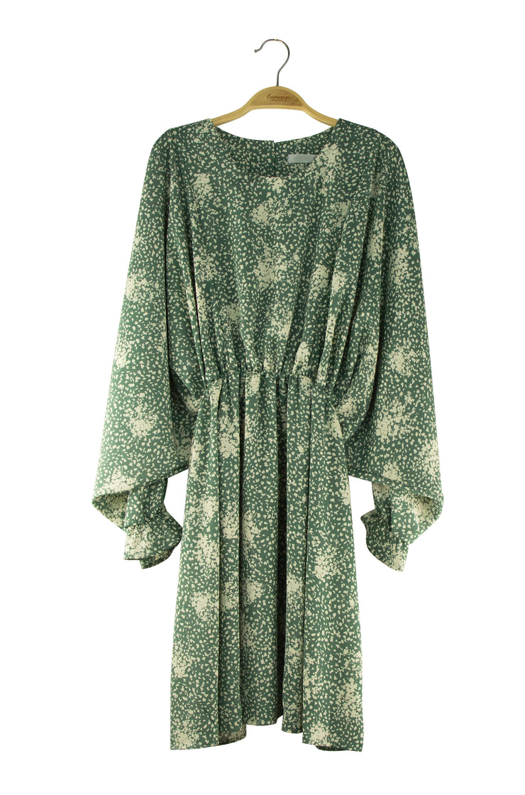 Cause and Effect Dress in Green