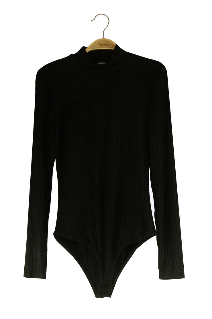Spiced Bodysuit in Black
