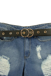 Never Too Shy Belt in Black