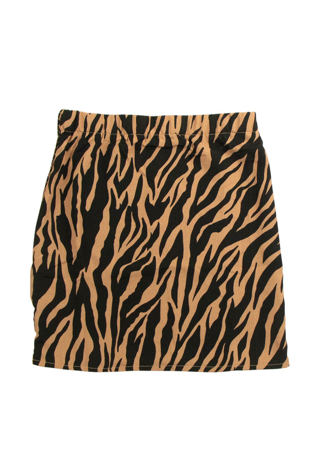 A to Zebra Skirt in Brown