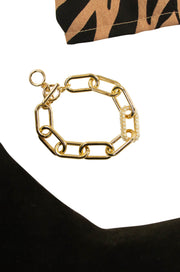 Interlocking Bracelet Gold