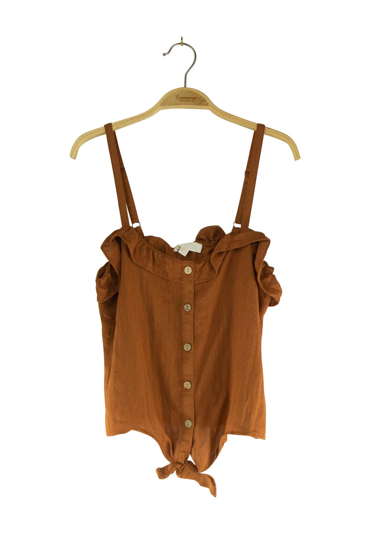 Maryanne Top in Brown