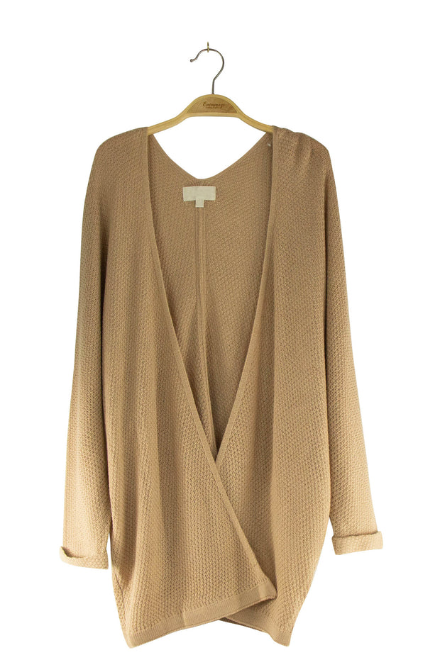 Brooklyn Cardigan in Light Brown