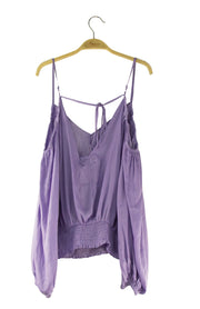 Summer Top in Light Purple