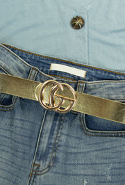 Go Belt in Gold