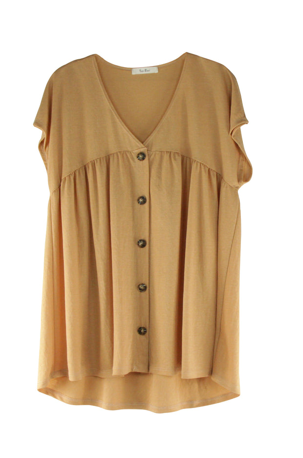 Aspen Top in Light Brown