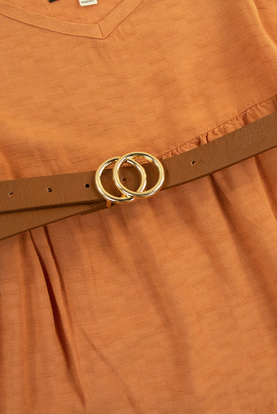 Highly Qualified Belt in Brown