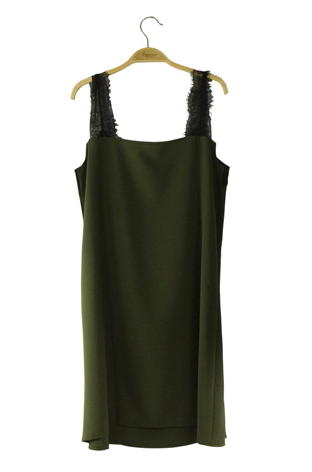 Stand Out Dress in Green