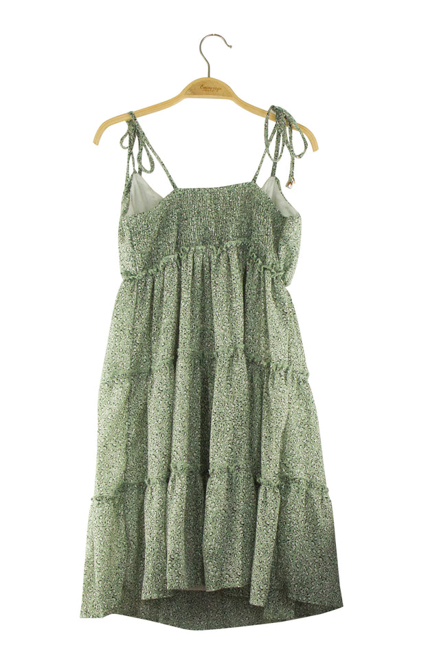 Ring Leader Dress in Green