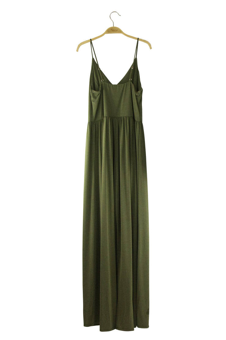 Radiance Jumpsuit in Dark Green