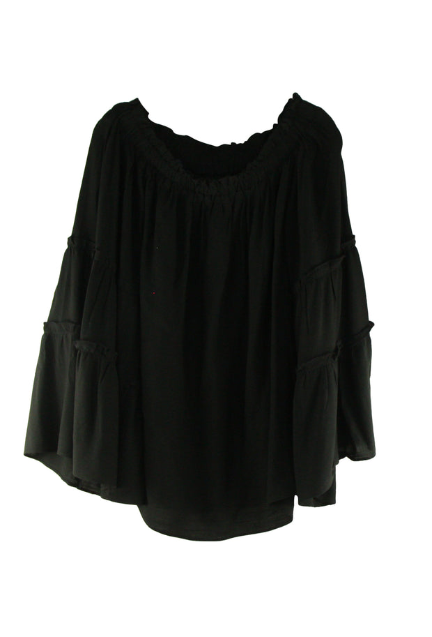 Rebound Top in Black