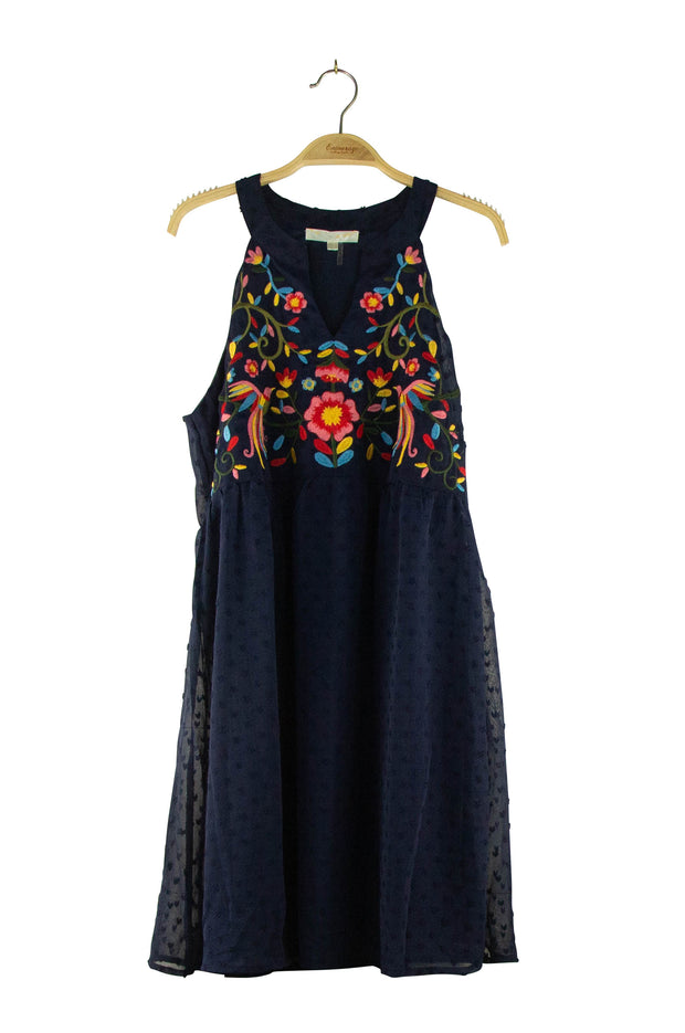Flower Girl Dress in Dark Blue