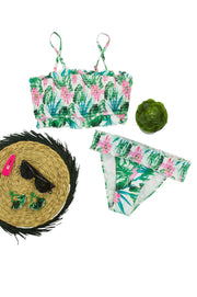Vacay Bikini Bottom in Green