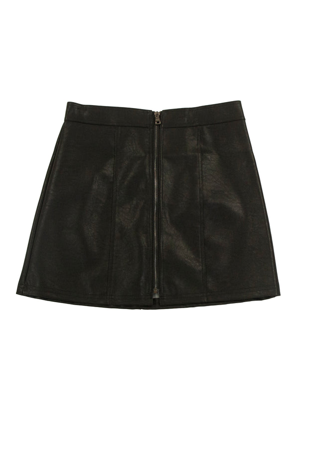 Zip It Skirt in Black