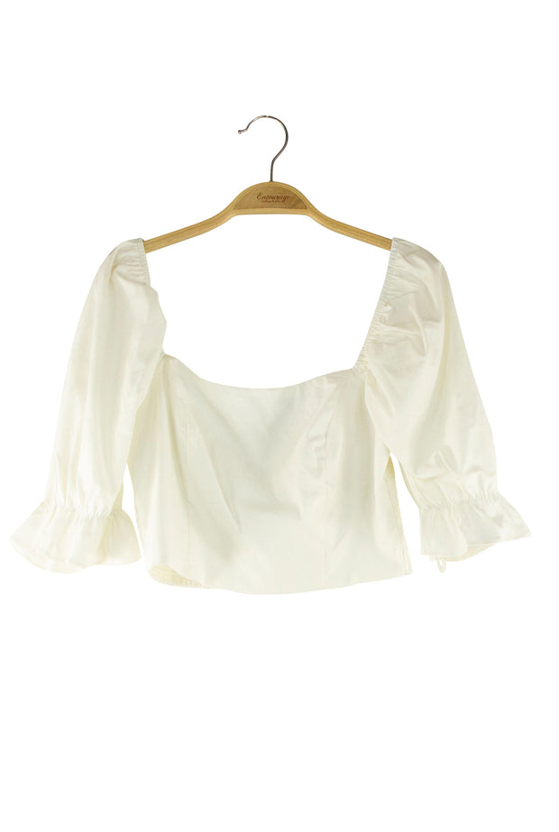 Possessive Top in Off White