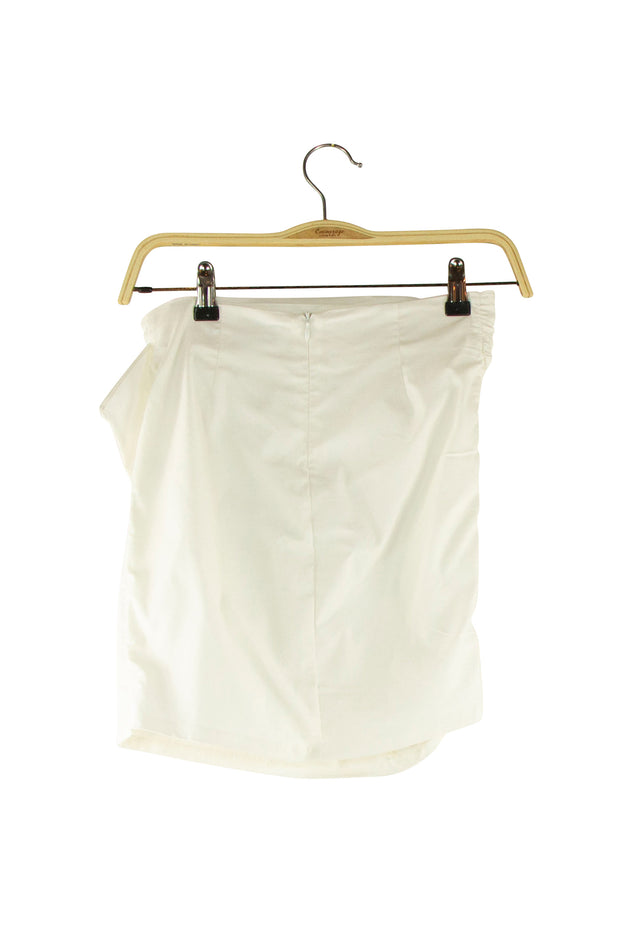 Possessive Skirt in Off White