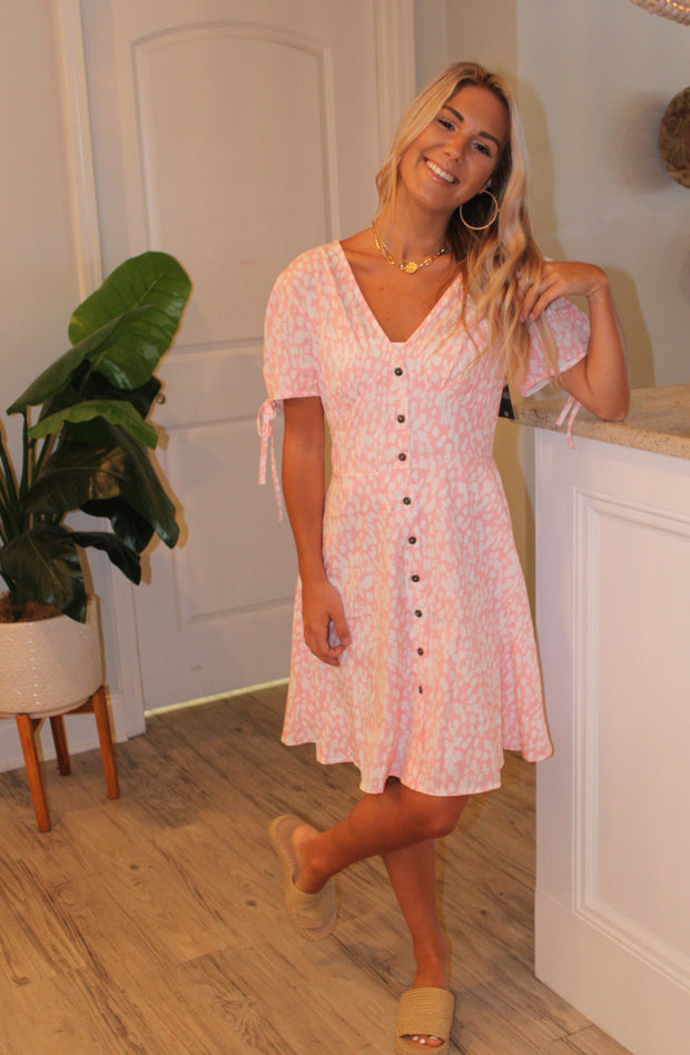 Lianne Dress in Pink