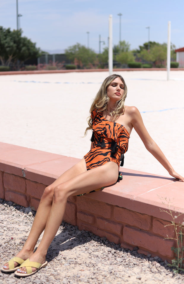 Eye of The Tiger Bathing Suit
