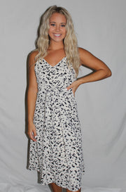 Meredith Dress in Off White
