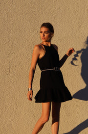 Born Free Dress in Black