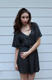 Wing It Dress in Black