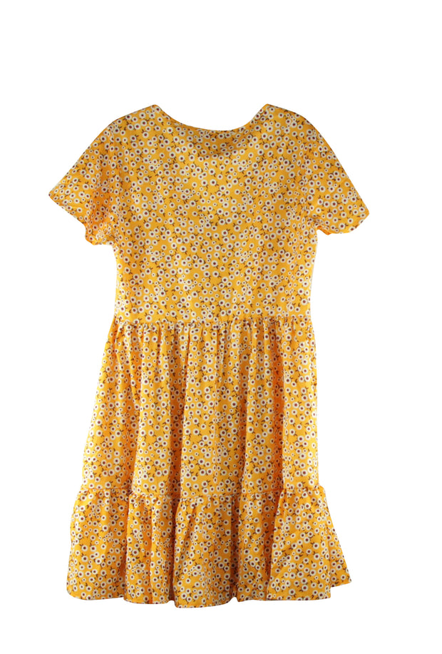 Miss Popularity Dress in Yellow