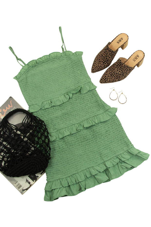 Party On Dress in Green