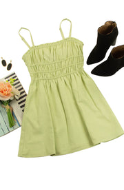 Heidi Dress in Green