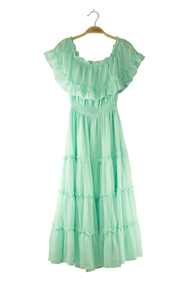 Flamenco Dress in Green