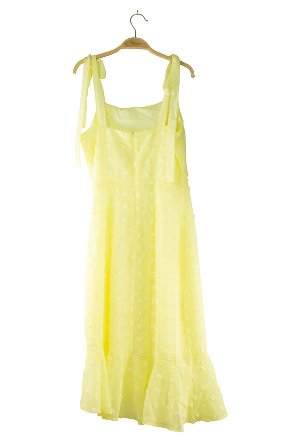 Coronation Dress in Yellow