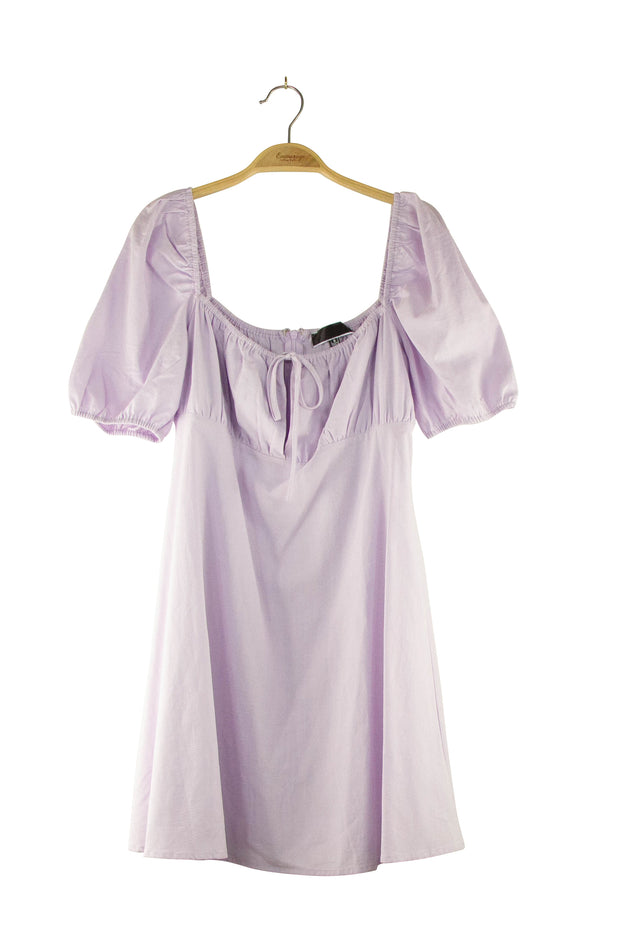 Nightingale Dress in Light Purple